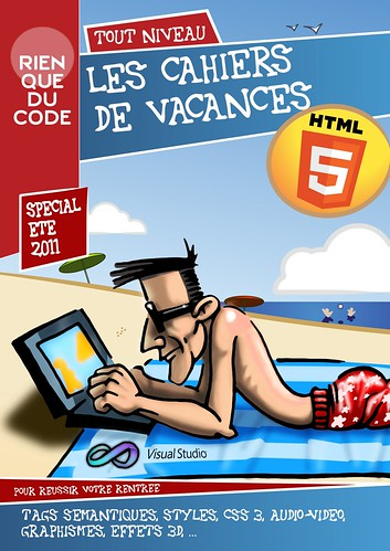 Couverture Cahier HTML5