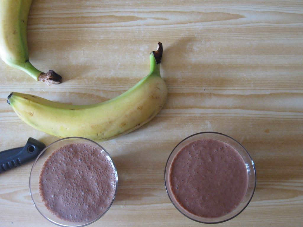 Banana&Nutella Milkshakes