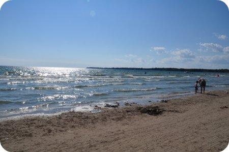 The beach at Sandbanks