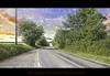 Country Road (Muzammil (Moz)) Tags: uk sunset panorama moz horwich windingroad muzammilhussain