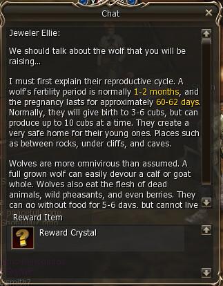 Quest Pet Wolf (Get a Pet - NIVEL 15) - Lineage 2