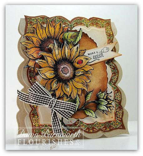 Sunflower Birthday Hop