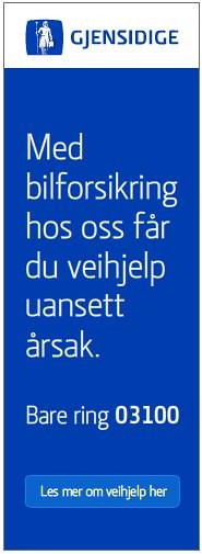 Gjensidige Veihjelp banner2