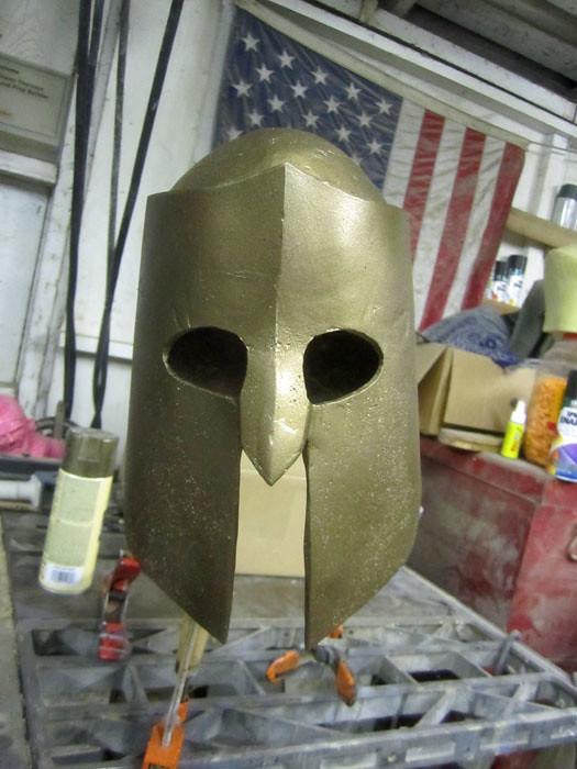 Achilles Helmet Bronze Basecoat
