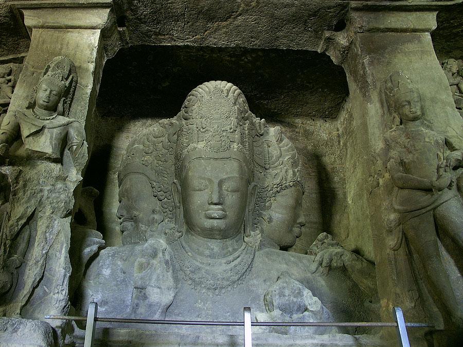 Тримурти (Махеш Мурти) Шивы© Kartzon Dream - авторские путешествия в Индию, авторские туры, тревел фото