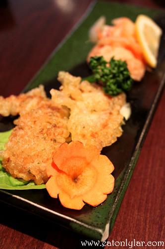 Appetiser, Sakura Japanese Restaurant
