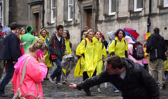 Fringe on the Royal Mile 2011 170