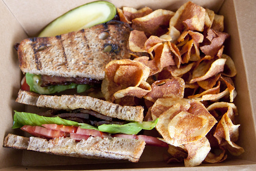 E&E Grill House Candied BLT