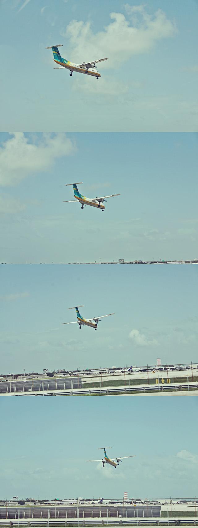 Fort Lauderdale airport landing 2