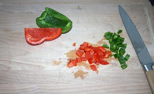 11 - Paprika würfeln