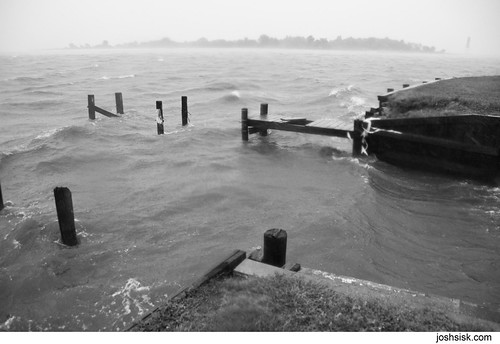 Hurricane Irene - Miller's Island, Baltimore, MD