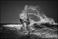 Kolohe Andino at the Huntington Beach US Surfing Open (szeke) Tags: ocean california usa landscape us losangeles unitedstates pacific surfer surfing huntingtonbeach noiseware 2011 imagenomic canon100400is tumblr canon7d niksilverefex