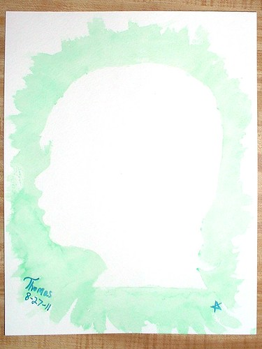 silhouette painting 08-27-11