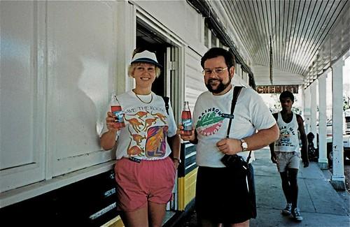 Stu Rachel Downtown Rabaul 1989