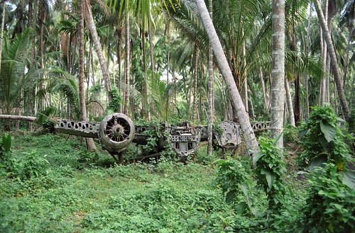 Japanese WWII aircraft, Rabaul 1989