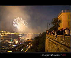 Fireworks in Montecarlo (Margall photography) Tags: people night photography shot fireworks montecarlo monaco marco artificiali fuochi galletto margall