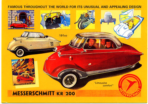 Messerschmitt KR200 'Bubble Car' 1956