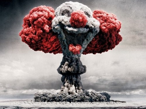 From flickr.com: Clown Mushroom Cloud {MID-178654}