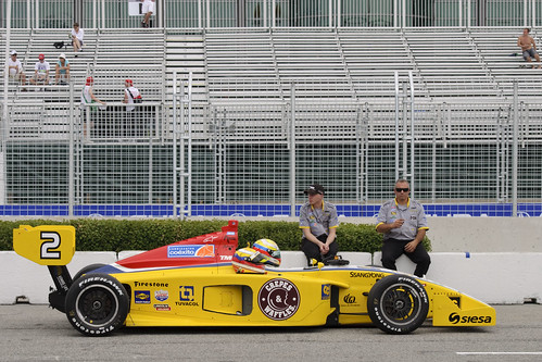 Calm before the storm - Firestone Indy Lights, Toronto 2011
