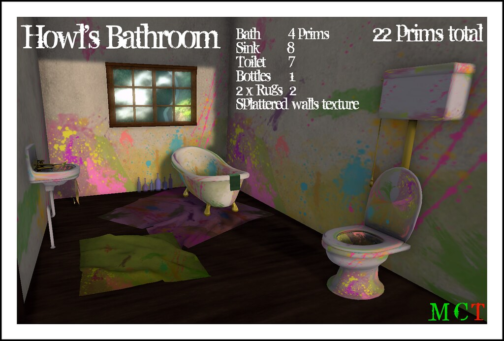 Howl's Bathroom