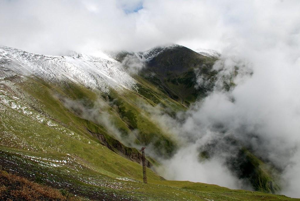 Abano Pass , Tusheti