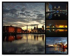 Liverpool on reflection (Mr Grimesdale) Tags: liverpool fdsflickrtoys docklands albertdock merseyside stevewallace liverpoolwaterfront mrgrimesdale nighttimereflections