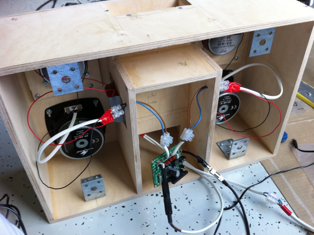 Project Ghettoblaster: How we built a kick- portable boombox on diy guitar wiring diagram, diy speaker wiring diagram, diy home wiring diagram,