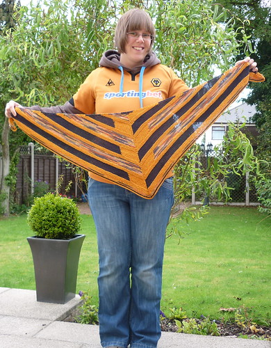 Stephen West KAL - Wolves Scarf