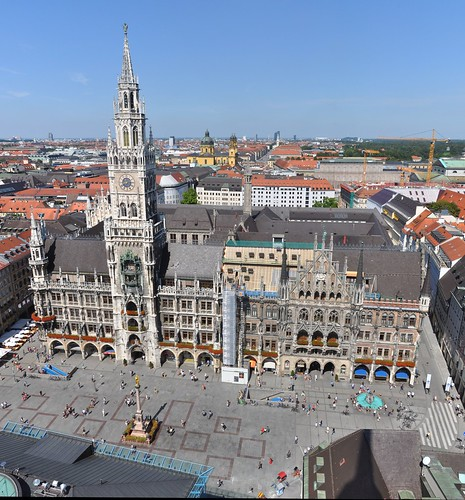 Munich - Rathaus from the tower