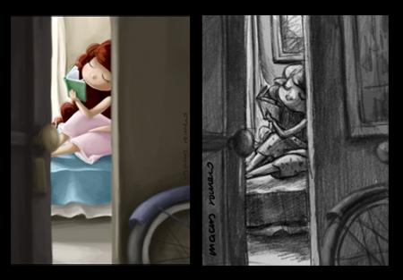 ilustracion infantil digital  cuento ilustrado  tutorial