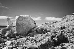 Mayo beach large rocks with me (Dave Road Records) Tags: