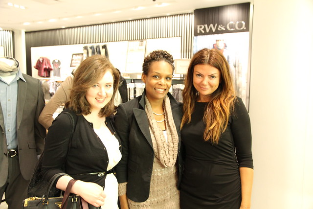 Caitlan Moneta (FASHION Magazine), Afiya Francisco and Natasha Koifman