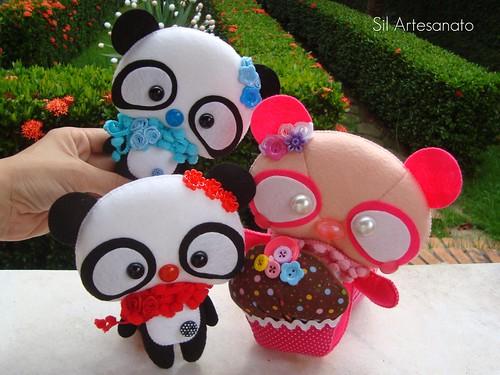 Pandas by Sil Artesanato
