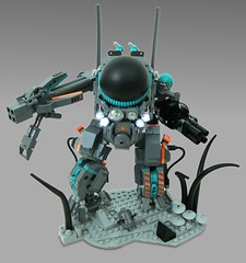 Alien Hard Suit (aabbee 150) Tags: shot lego space alien hard 150 suit outer outerspace feature mecha mech foitsop aabbee