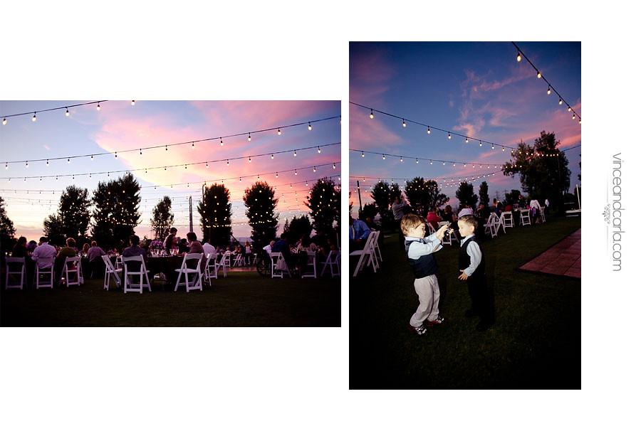 reception sunset
