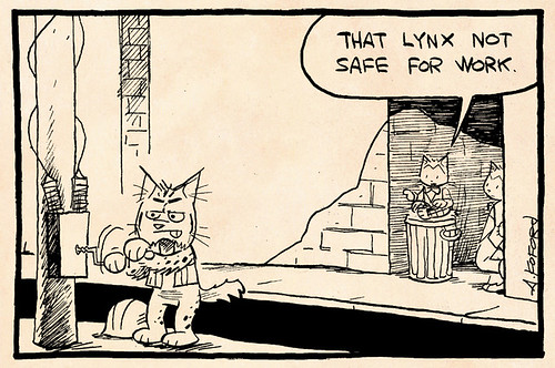 Laugh-Out-Loud Cats #1780 by Ape Lad