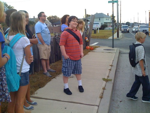 Jack's first day of 6th grade