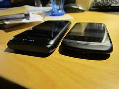 Nokia E7 vs. Huawei Ideos X3