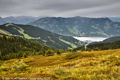 On Top of Schmittenhhe (Dr. Hani) Tags: mountain lake mountains alps landscape austria nikon europe thealps zellamsee hani zellersee nikond90 lakezell schmittenhh zellerlake hanialhamoud drhani shmittenhohe
