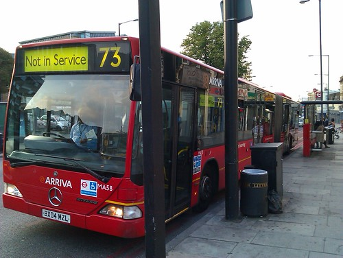 Last day of bendy buses in London