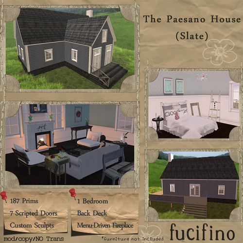 fucifino.paesano house (slate) La Venta Eventa