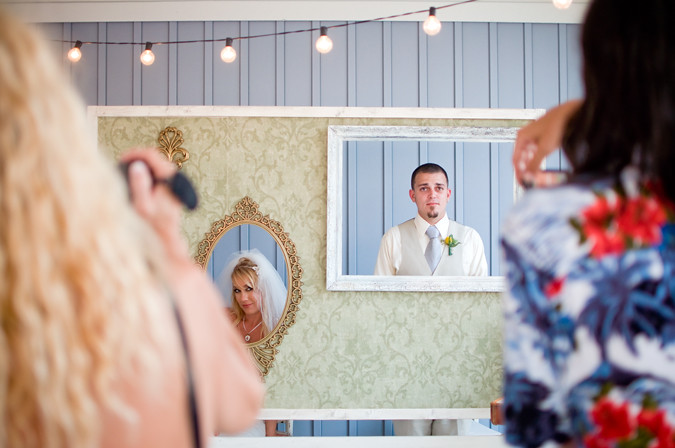 Vintage Pensacola Beach Wedding Photographer