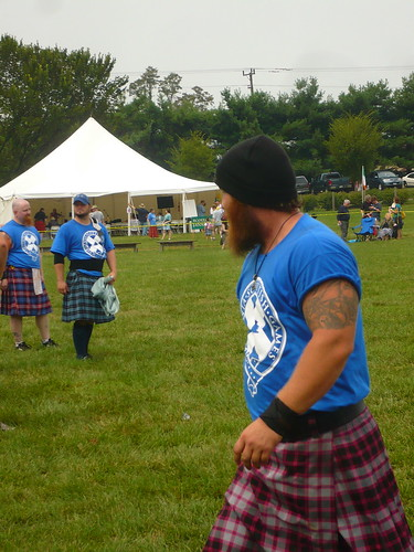 burly and kilted