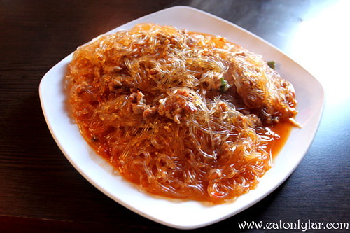 Minced pork with vermicelli, Jacky's Kitchen