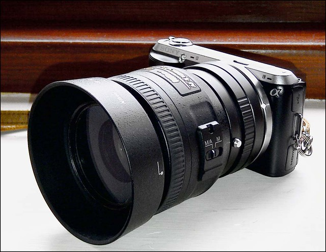 Sony NEX-C3 Nikon 35mm f/1.8