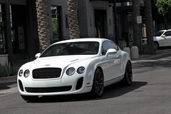 Bentley Continental Supersports (agup627) Tags: uk b arizona england white black english sports face sport united side w ss wheels twin continental kingdom commons grand az super front turbo gran british scottsdale tt 12 gt coupe twinturbo bentley w12 tourer supersports kierland blackwheels kierlandcommons grandtourer worldcars grantourer