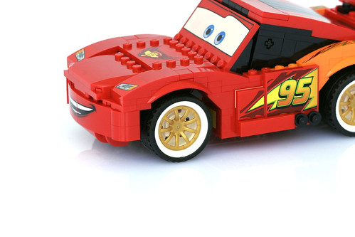 8484 Ultimate Build Lightning Mcqueen - 9