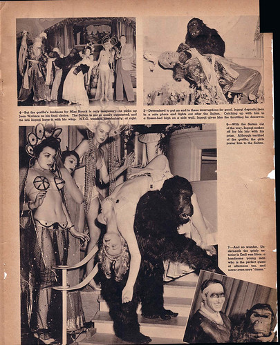 GORILLAS PREFER BLONDES - SPOT magazine April 1941