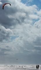 Noordwijk beach - extreme (koorelle) Tags: kite beach extreme surfing noordwijk canon70200mmf28lisusm canoneos7d
