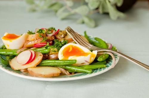 salade presque liégeoise